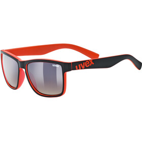 UVEX LGL 39 Lifestyle Glasses black matt red/ltm.brown deg.